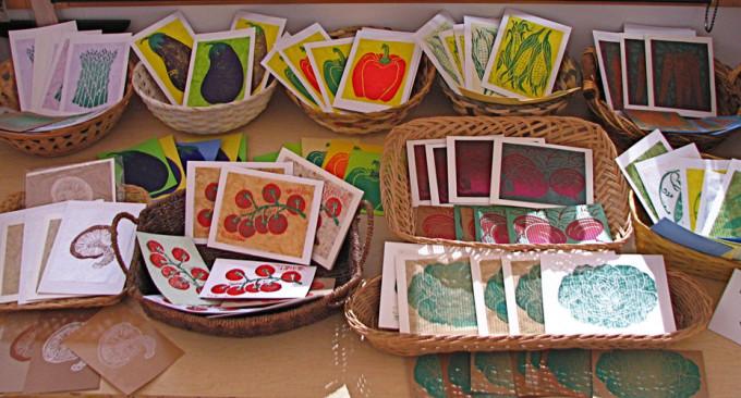 Garden Greetings Studio Display