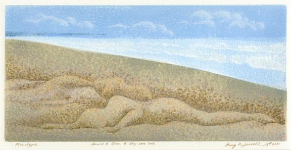 Sand Sea Sky are We